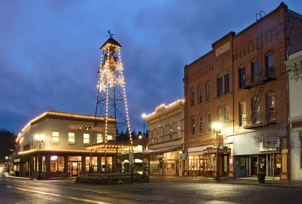 Placerville in the lights